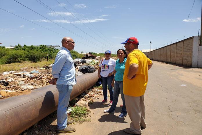 Montoya: Entre aguas negras vive barrio Sabana Sur de San Francisco del Zulia