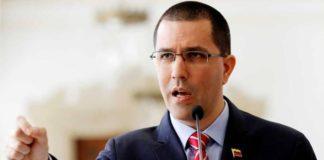 Arreaza al canciller de Colombia: su país es cuna de violencia criminal