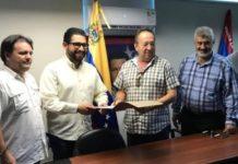 Directiva de Zona Franca y Cacoinpar realizan reunión de trabajo