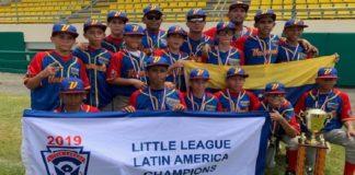 Grandeligas financiaron el viaje de Venezuela al Mundial de Pequeñas Ligas