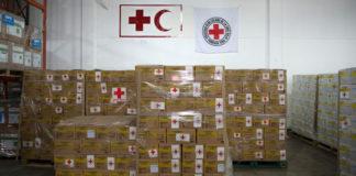 Venezuela recibió casi 100 toneladas de ayuda humanitaria, según Cruz Roja