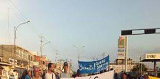 GNB y colectivos dispersan protesta por racionamiento eléctrico en Ciudad Ojeda