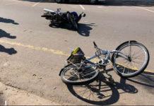 Septuagenario muere al impactar su bicicleta con una moto en Los Taques