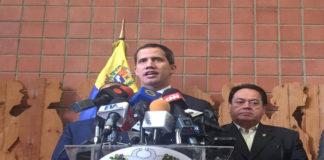 Guaidó asegura que no hay fecha para restablecimiento del diálogo