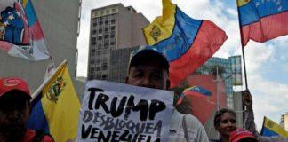 Chavismo| Jornada de protesta contra sanciones de EEUU a Venezuela