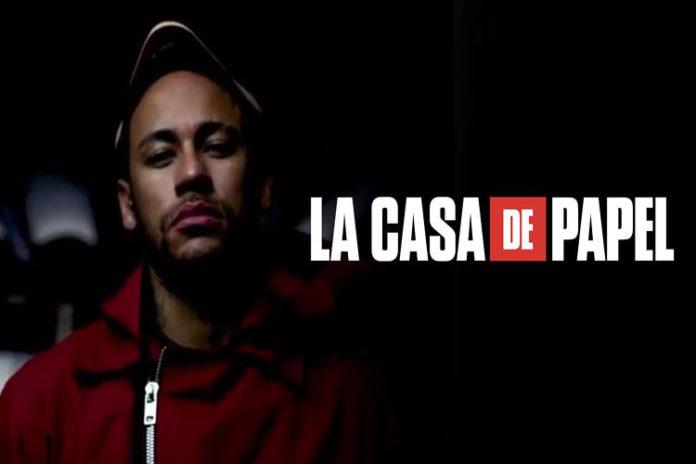 Neymar aparecerá en dos episodios de la tercera temporada 'La Casa de Papel'