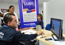 Saime Falcón activó jornada especial de cedulación (+Comunicado)