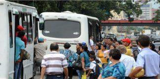 """""""A Bs. 1000 el pasaje en todo el país"""", planteamiento de los transportistas"""