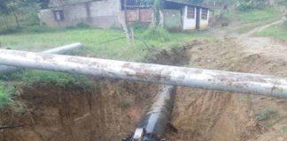Hidrofalcón: Reparada fuga de agua potable en la estación de rebombeo Mapará