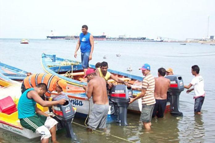 A seis días de la desaparición de los cuatro pescadores de Punta Cardón los trabajos de rastreo por parte de los Guardacostas de Punto Fijo