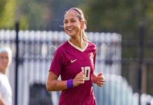 Deyna Castellanos la tercera máxima goleadora de por vida de la Liga Universitaria de EEUU