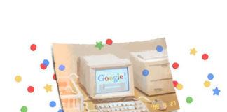 Google celebra su 21° aniversario con un doodle
