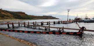 Fotos+Video: Playas de Punto Fijo contaminadas por derrame de petróleo