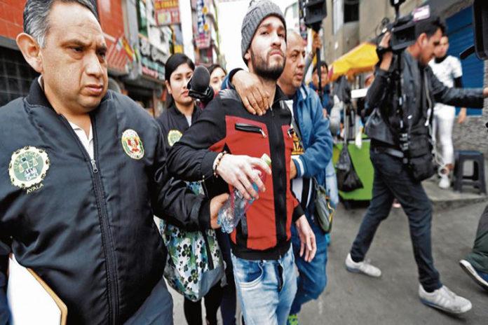 Un venezolano implicado en descuartización de su compatriota y un peruano en hostelería de Perú