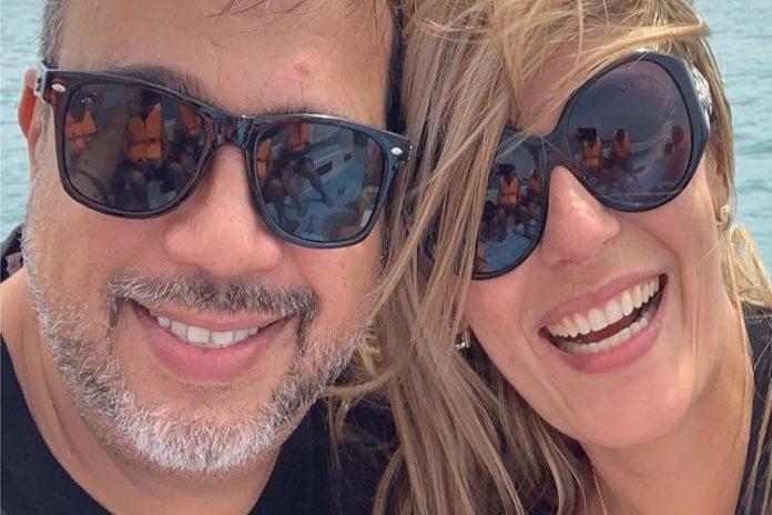Miguel Moly se casó con su nueva piernona en Los Roques