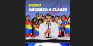 Bono Regreso a Clases es de Bs 50.000