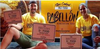 """""""Pabellón"""", un puesto de comida venezolana, ganó el concurso del mejor food truck en Reino Unido"""