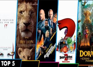 """""""IT: Capítulo Dos"""" se mantiene en la cima en el Top 5"""
