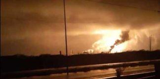 Vea el video del incendio que se registró en refinería Amuay la noche de este 19-S