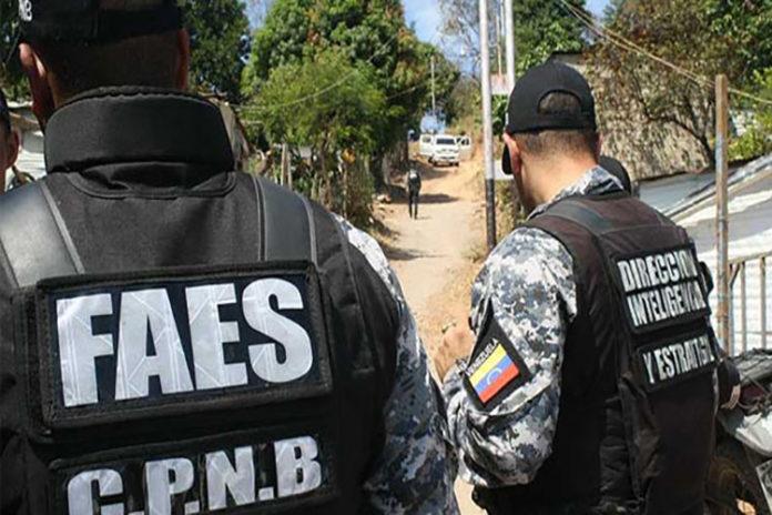 Carabobo: Faes ha desmantelado 46 bandas delictivas en seis meses