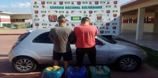 Detenidos dos hombres por hurtar 180 litros de aceite hidráulico en CRP Amuay