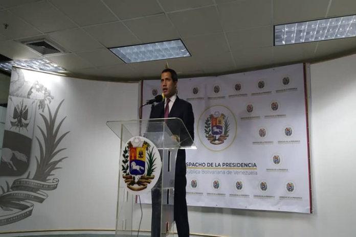 Guaidó propone un Consejo de Gobierno para atender la crisis
