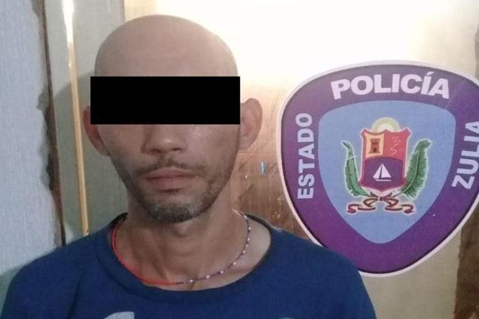 Edgber Morán Cobo, fue detenido por funcionarios del Cuepo de PoliciaBolivariana del estado Zulia (Cpbez)