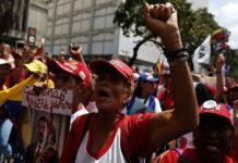 Oficialistas marcharon hasta Miraflores