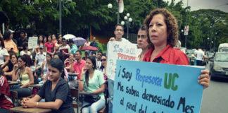 Profesores de Universidad de Carabobo piden dolarización de escala salarial