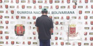 GNB detiene a ciudadano por micro tráfico de Droga en Lagunillas