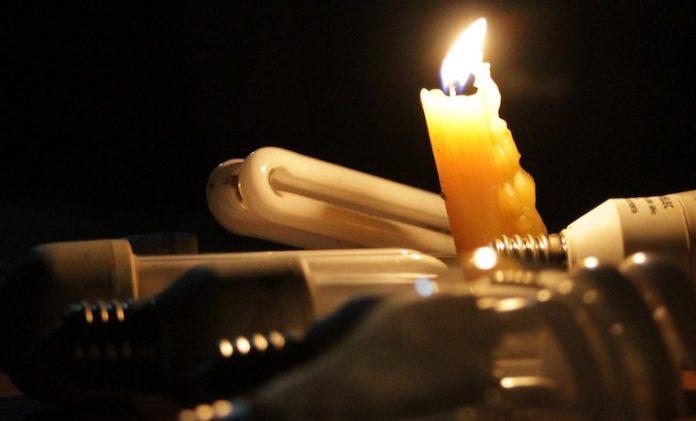 Las fallas eléctricas persisten en Caracas