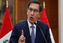 Vizcarra afirmó que dejará el poder al fin de su mandato en julio de 2021