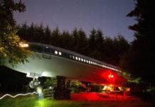 Convirtió un viejo avión en su casa (+Fotos)