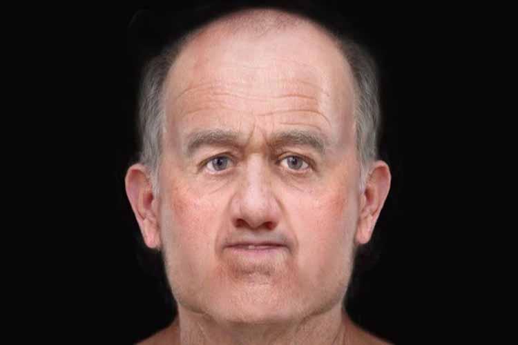 Reconstruyen la cara de un hombre que vivió hace 600 años