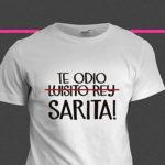 Lanzan camisetas de 'Te odio Sarita', hija de José José