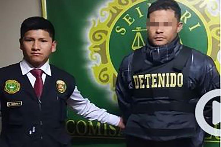 Exmilitar venezolano se hacía pasar por taxista para secuestrar y robar en Perú