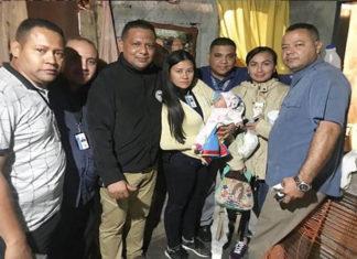 ¡Sana y salva!, Cicpc rescata a bebé de tres meses raptada en Lara