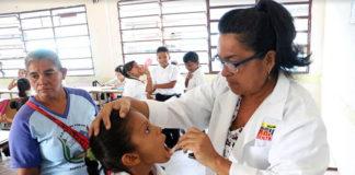 """Plan nacional """"La salud va a la escuela"""" se despliega en planteles de Falcón"""