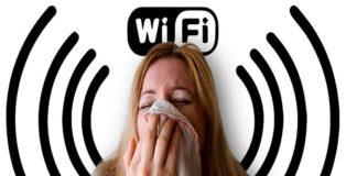 Asegura que es alérgica al WiFi