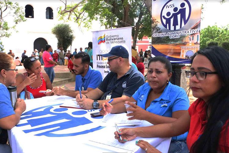IVSS realizó jornada de captación y registro de adultos mayores en Falcón