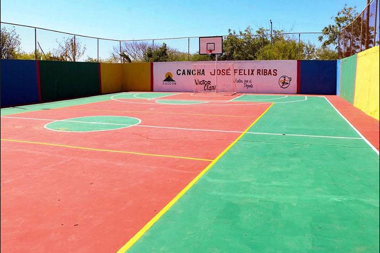 Rehabilitadas 30 instalaciones deportivas en Falcón