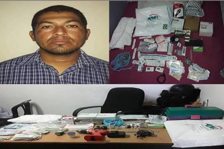 Cicpc arrestó a hombre que vendía insumos médicos en Coro