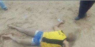 Localizan cuerpo de un hombre en playa de La Vela