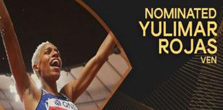 Yulimar Rojas nominada a la Atleta Mundial del Año Femenina de la IAAF