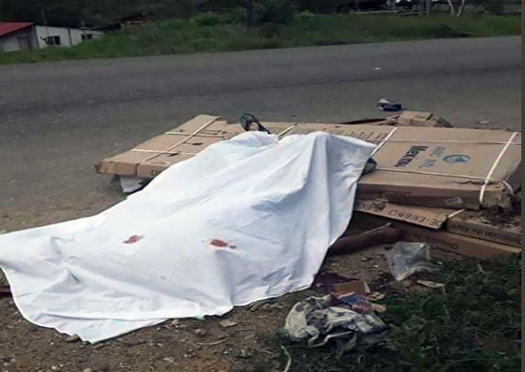 La tarde de este viernes 18 de octubre se registró un accidente vial en el municipio Tocópero del estado Falcón