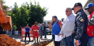 Inspeccionan trabajos de infraestructura en Carirubana