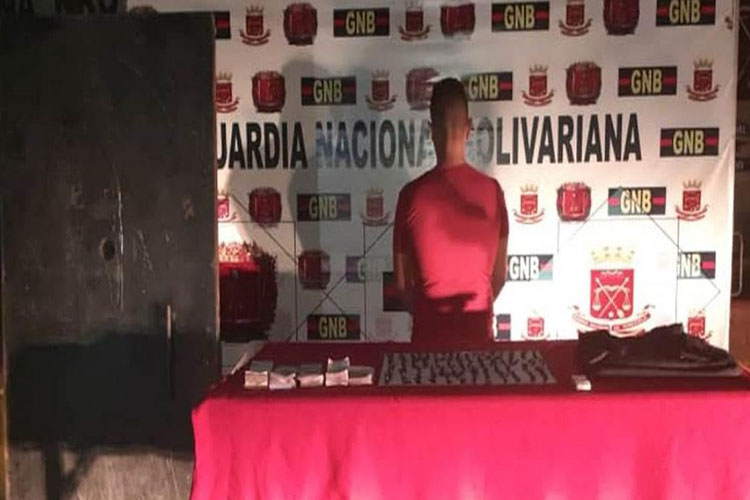 Mérida: GNB puso tras los barrotes a microtraficante del barrio Simón Bolívar