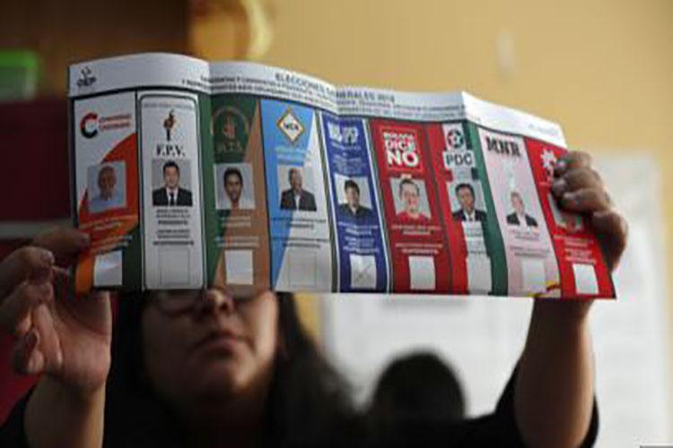 Este martes continuará el recuento de votos de las presidenciales en Bolivia