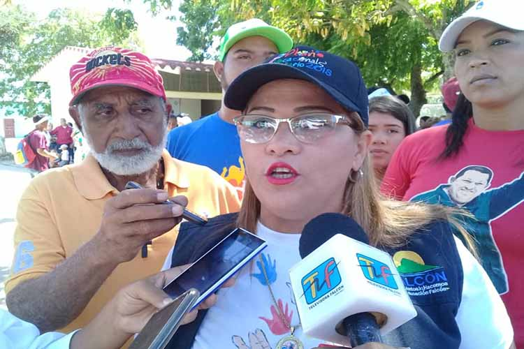 Marelys Castro: En Falcón el paro fracasó