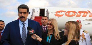 Maduro llegó a Azerbaiyán para traspaso del Mnoal